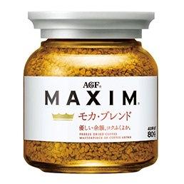 【橘町五丁目】新品 !日本AGF香醇摩卡咖啡-白罐 (咖啡豆:衣索匹亞、巴西)-80+20g