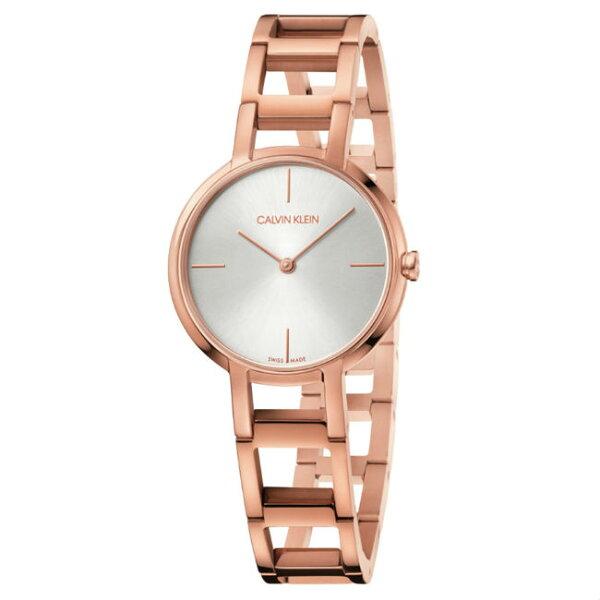 CK卡文克萊CHEERS系列(K8N23646)個性鏤空時尚腕錶白面32mm