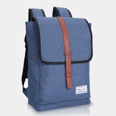 LINAGI里奈子精品【K906-63-98】休閒時尚皮帶前大袋內袋拉鍊袋雙磁釦方型拉鍊後背包