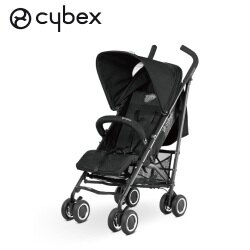 德國【Cybex】Onyx 輕便推車-黑色(不含杯架.雨罩)