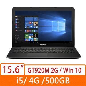 ASUS  X554LJ-0137K5200U   家用筆電 黑 i5-5200U/4G/500G/920M/Win10