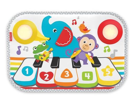 【紫貝殼】美國 Fisher-Price 費雪輕便版智玩踢踢琴