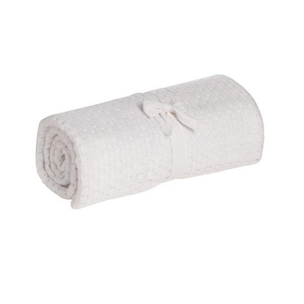 【紫貝殼】奇哥 mothercare 中大床棉毯/洞洞毯120*155cm(簡易包裝)