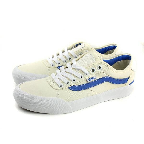 VANSChimaPro2帆布鞋休閒鞋綁帶男鞋白色181022211no489