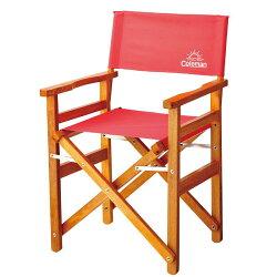 ├登山樂┤美國 Coleman 懷舊系列 經典木椅-草莓紅 # CM-27857