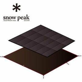 SNOW PEAK Amenity Dome Mat/Sheet Set/AD SDE-001帳蓬內泡棉墊地布組(睡墊 + 地布)-帳內泡綿墊.地毯.地墊.露營 SET-021