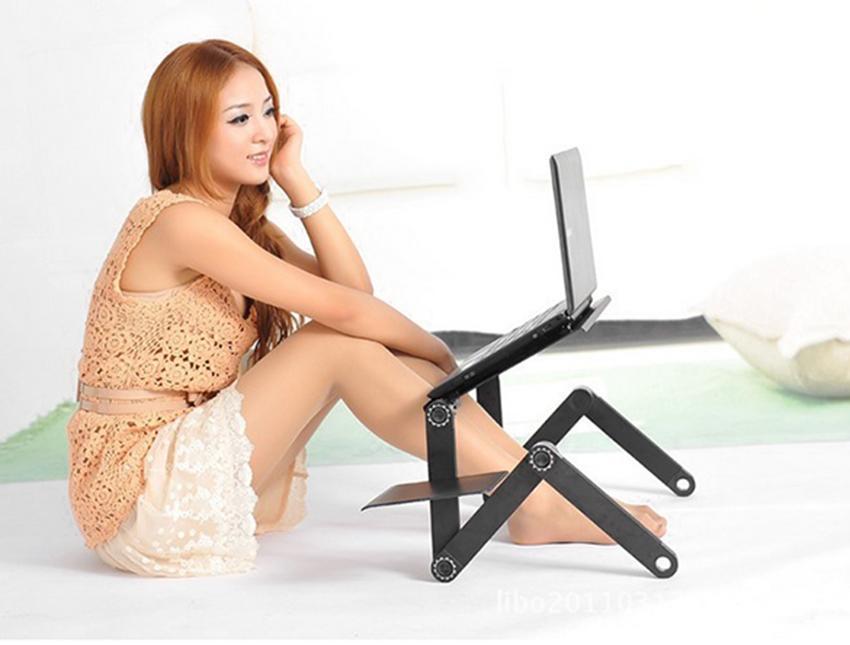 360 Degree Adjustable Foldable Laptop Desk Table 5