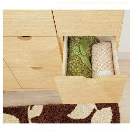 ◎(OUTLET)木質整理櫃 LUFFY2-80NA 福利品 NITORI宜得利家居 3