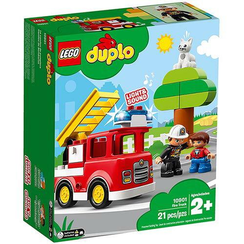樂高LEGO 10901 Duplo 得寶系列 -消防車 - 限時優惠好康折扣