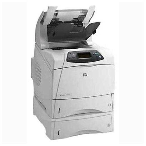 HP Laserjet 4300dtnsl Monochrome Laser Printer - Duplex - Extra Tray - Network - Stapler 0