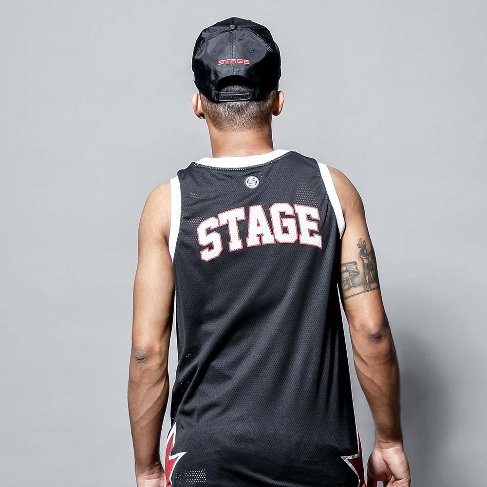 STAGE LOGO SHOW SNAPBACK 黑色 / 白色 兩色 1