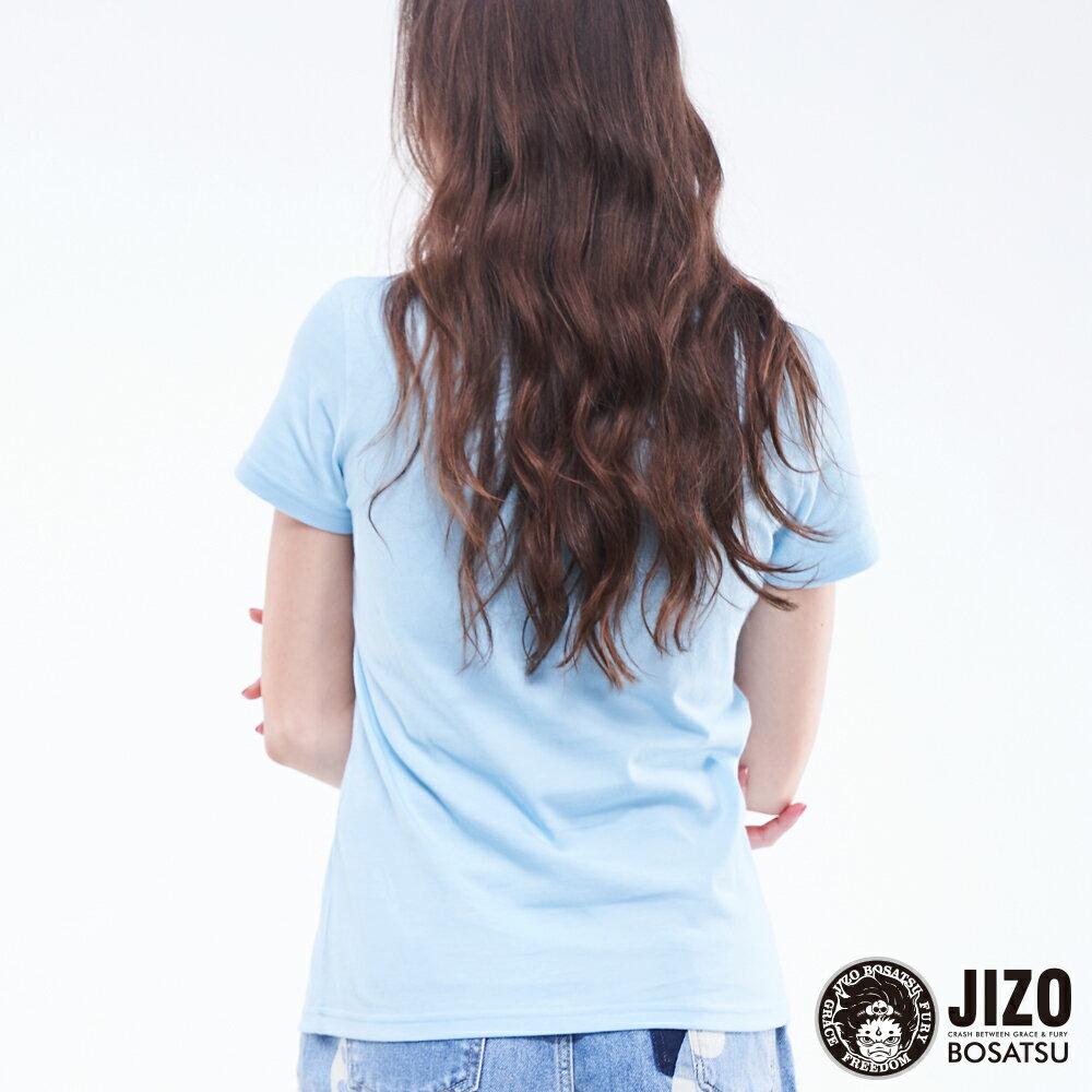 【2020春夏新品】金魚姬晴天娃娃短TEE(藍)  - BLUE WAY JIZO 地藏小王 2