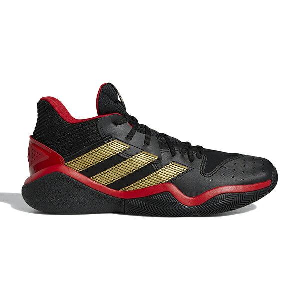 ADIDAS Harden Stepback 籃球鞋 網布 皮革 哈登 黑金紅 男生【EH1943】