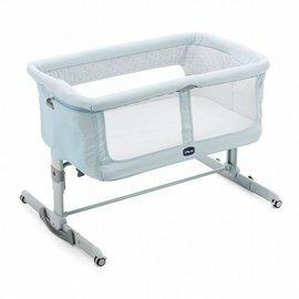 ChiccoNext2MeDream移動舒適嬰兒床-裴濟藍