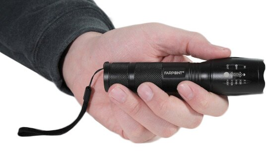 Farpoint 350 Lumen Tactical Flashlight 2-Pack 2