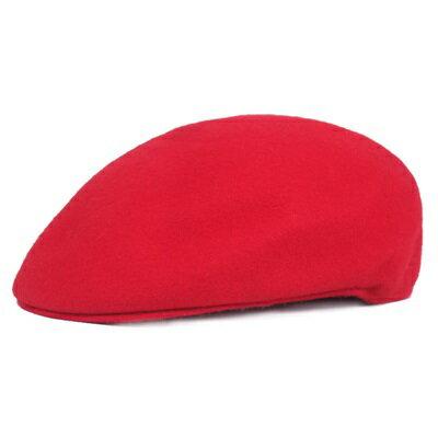 貝雷帽鴨舌帽-羊毛短簷純色溫暖男女帽子3色73tv98【獨家進口】【米蘭精品】