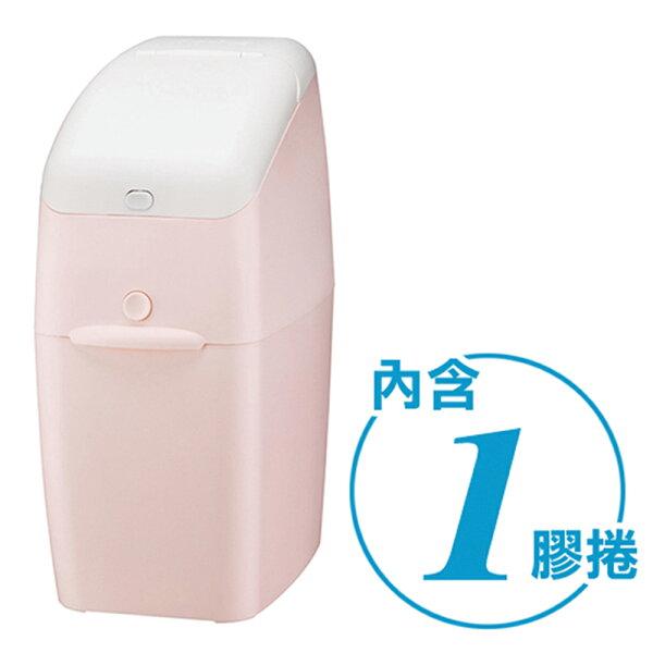 【麗嬰房】Aprica愛普力卡NIOI-POI強力除臭尿布處理器-蜜桃粉PK