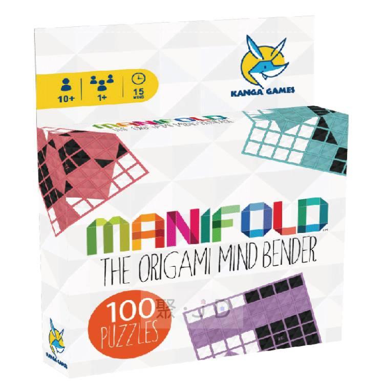 【樂桌遊】KG-1360 黑白摺學 Manifold