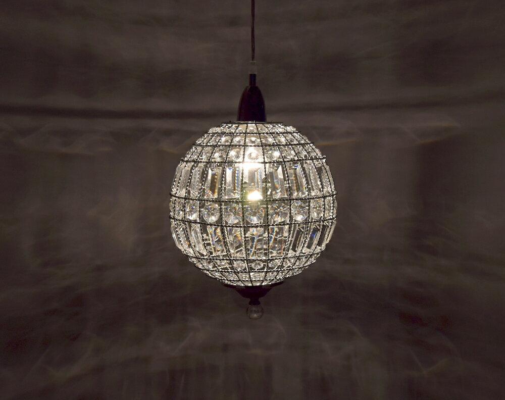 鍍鉻水晶圓形吊燈-BNL00104 5