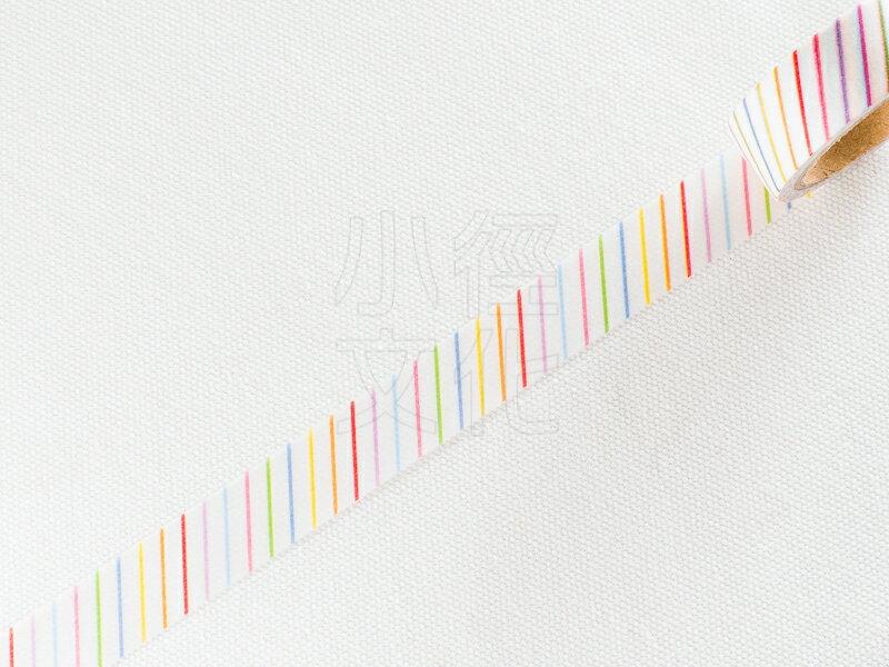 *小徑文化*日本進口和紙膠帶 Word carft系列 - 白底斜紋 ( W02-MK-T0004 )