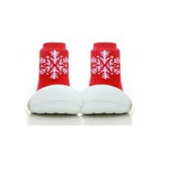 【本月特價$599】韓國【Attipas】快樂腳襪型學步鞋-聖誕限定 - 限時優惠好康折扣