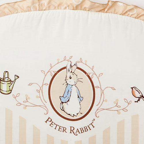 【促銷】奇哥 比得兔 原木大床+優雅比得兔六件式寢具組 / 床組 (L) 1