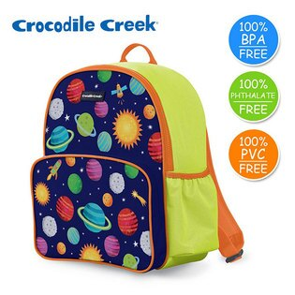 《美國CrocodileCreek》GoKids兒童造型背包-太陽系(新版)