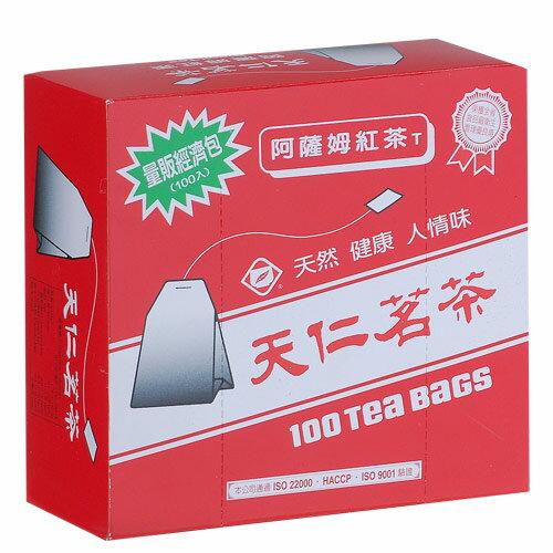天仁阿薩姆紅茶經濟包2g*100包/盒【愛買】
