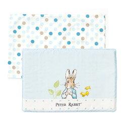 【悅兒園婦幼生活館】奇哥 花園比得兔乳膠枕-藍色 (附枕套)