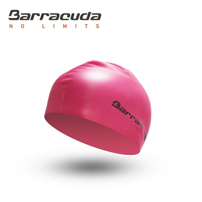 美國巴洛酷達Barracuda成人矽膠泳帽-粉 - 限時優惠好康折扣
