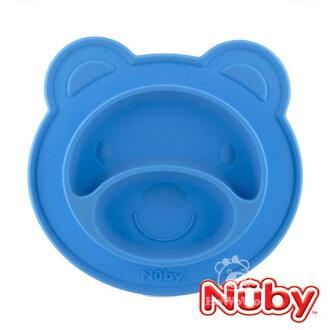 Nuby 小熊矽膠餐盤 嬰兒用品 寶寶專用92908 好娃娃