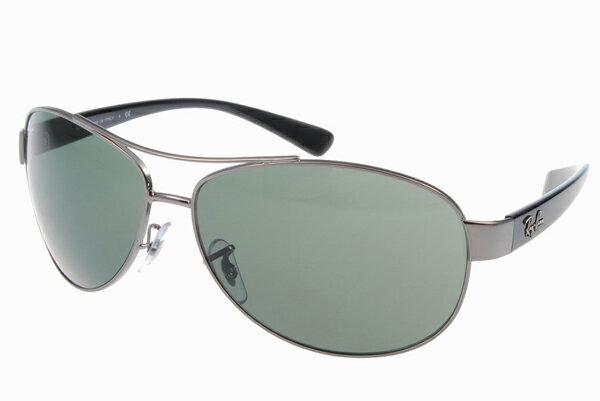 Ray Ban 雷朋 銀墨綠 太陽眼鏡 RB3386 2