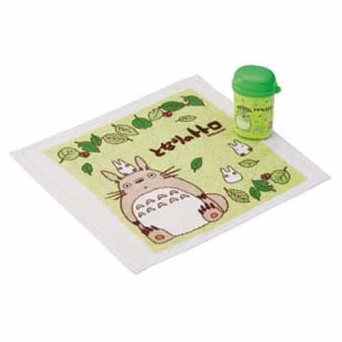 子伊日系館:龍貓攜帶式方巾附盒868-472