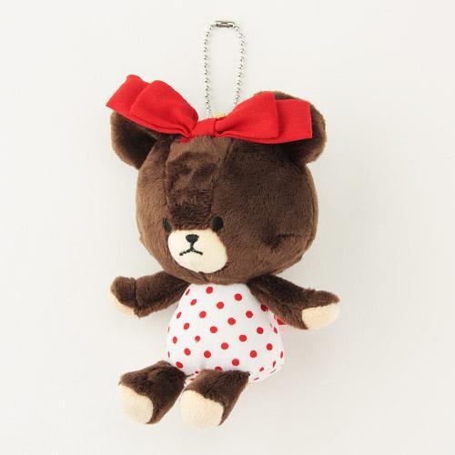 868-010小熊學校玩偶吊飾