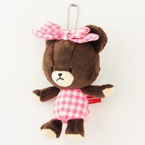 868-011小熊學校玩偶吊飾