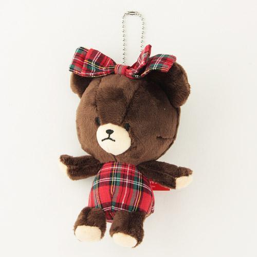 868-018小熊學校玩偶吊飾