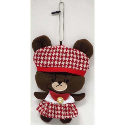 868-479小熊學校玩偶吊飾