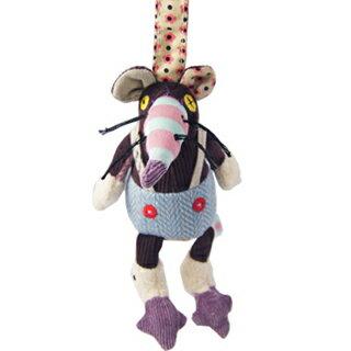 【全新品3折出清】法國【 DEGLINGOS】布偶吊飾 - 老鼠