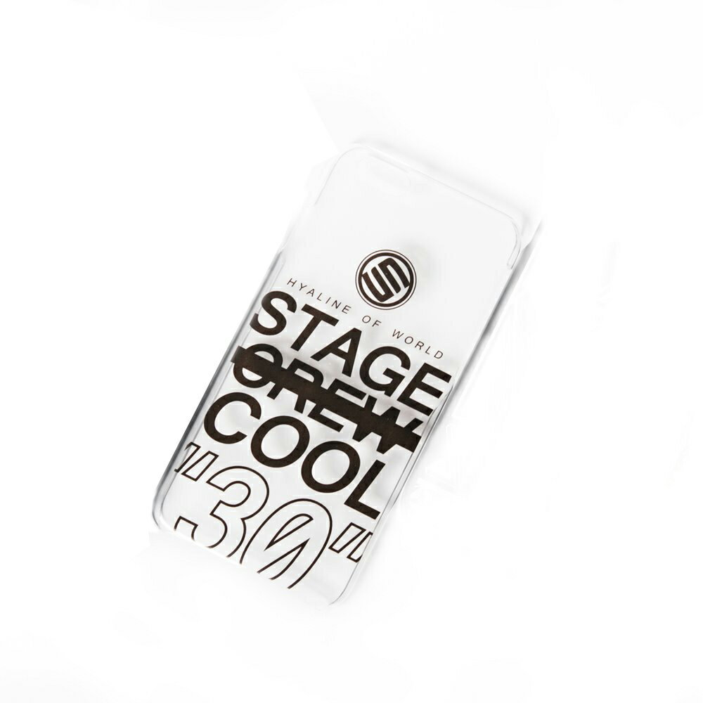 STAGE COOL  I PHONE 6  /  6  PLUS CASE 透明款 0
