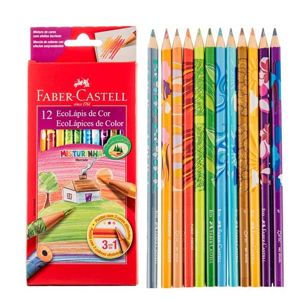 預購Faber-Castell輝柏變色彩虹色鉛筆(120112MIX)★超取$199免運★