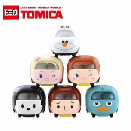 TOMICA TSUM TSUM系列 多美小汽車 疊疊樂 迪士尼 日本進口 冰雪奇緣 艾莎 安娜 雪寶 胡迪 泰瑞【B061817】