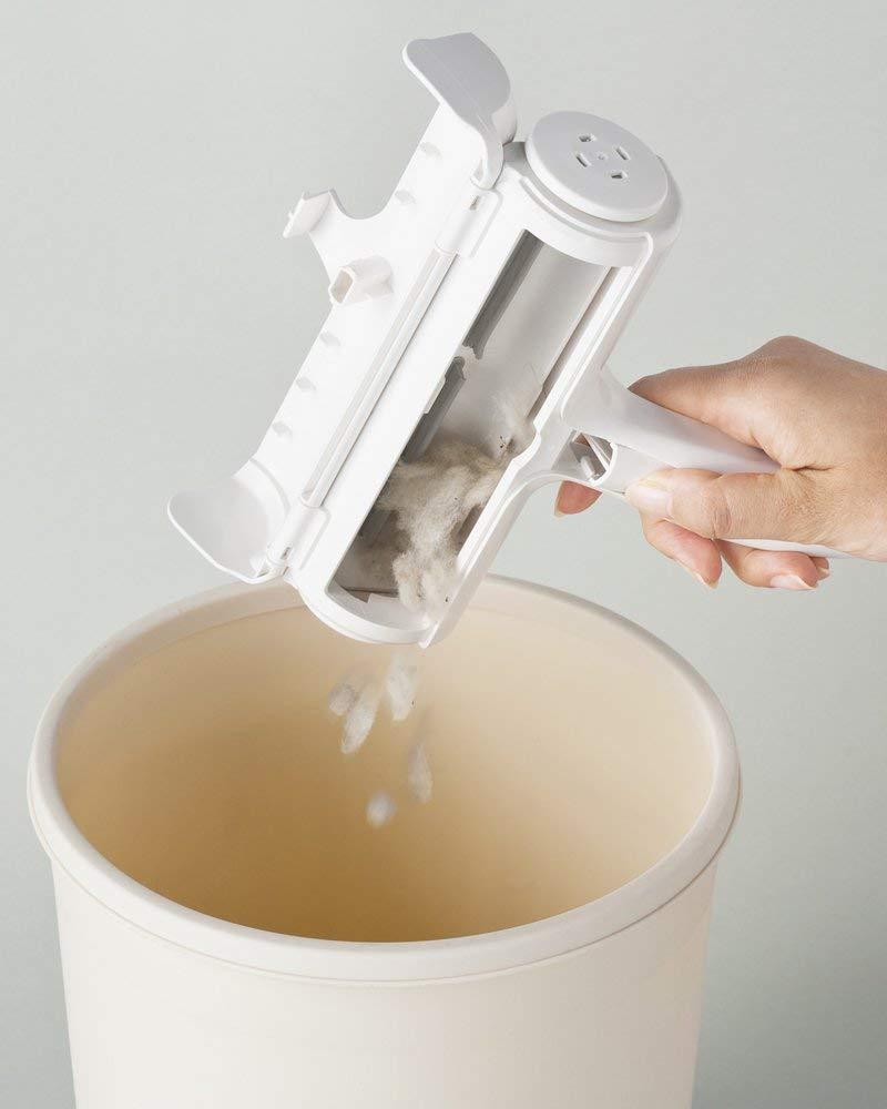 【現貨】日本寵物 清潔滾輪刷 Nippon Seal N76C 寵物 免耗材 寵物毛 灰塵 貓毛 狗毛 兔毛【星野日貨】 4