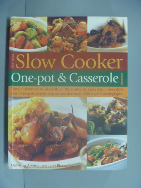 ~書寶 書T1/餐飲_ZCL~Best~ever Slow Cooker One~pot
