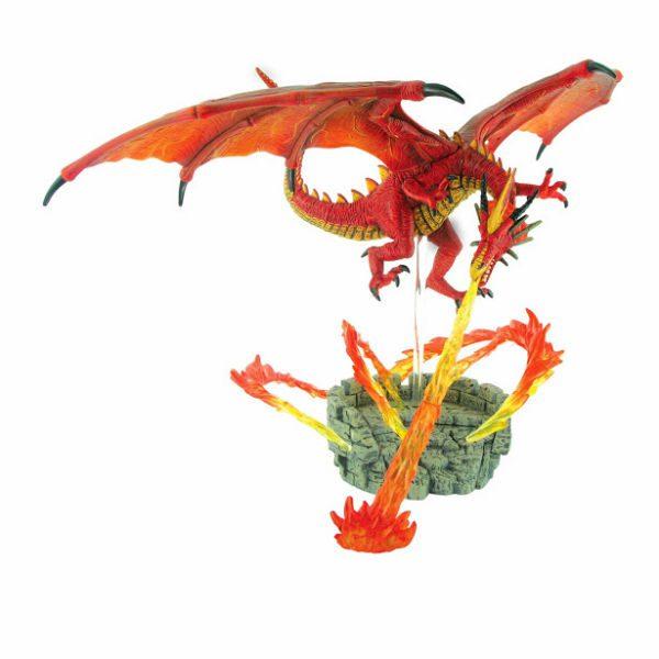 【4D MASTER】立體拼組模型恐龍系列-造景熾火龍 26846