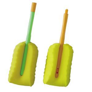 【蜜妮寶貝嬰童用品館】泡棉奶瓶刷替換組(二入) 橘色、綠色