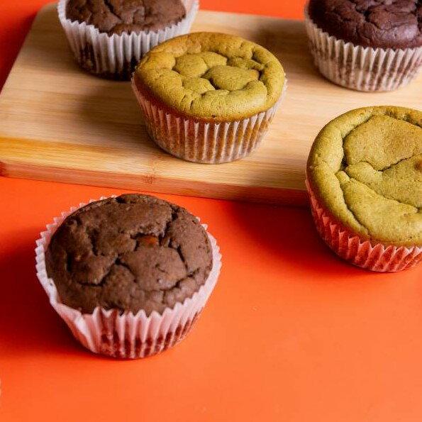 【甜野新星-甜點專賣店】〈生酮〉馬芬蛋糕 杯子蛋糕 - 伯爵馬芬、義式馬芬、巧克力馬芬、抹茶馬芬
