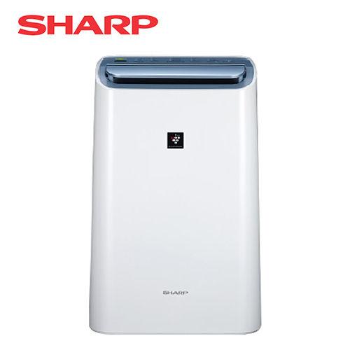 SHARP 夏普 10.5L 自動除菌離子HEPA空氣清淨除濕機 DW-H10FT-W *免運費*
