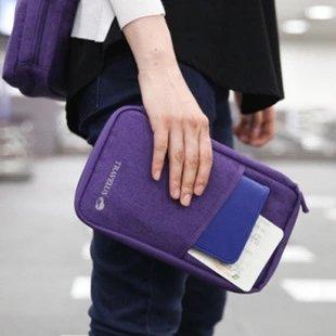 <br/><br/>  【瞎買天堂x旅行必備】大容量旅行護照包 機票 證件 信用卡 都可放在一起 好收納 護照夾【CBAA0407】<br/><br/>