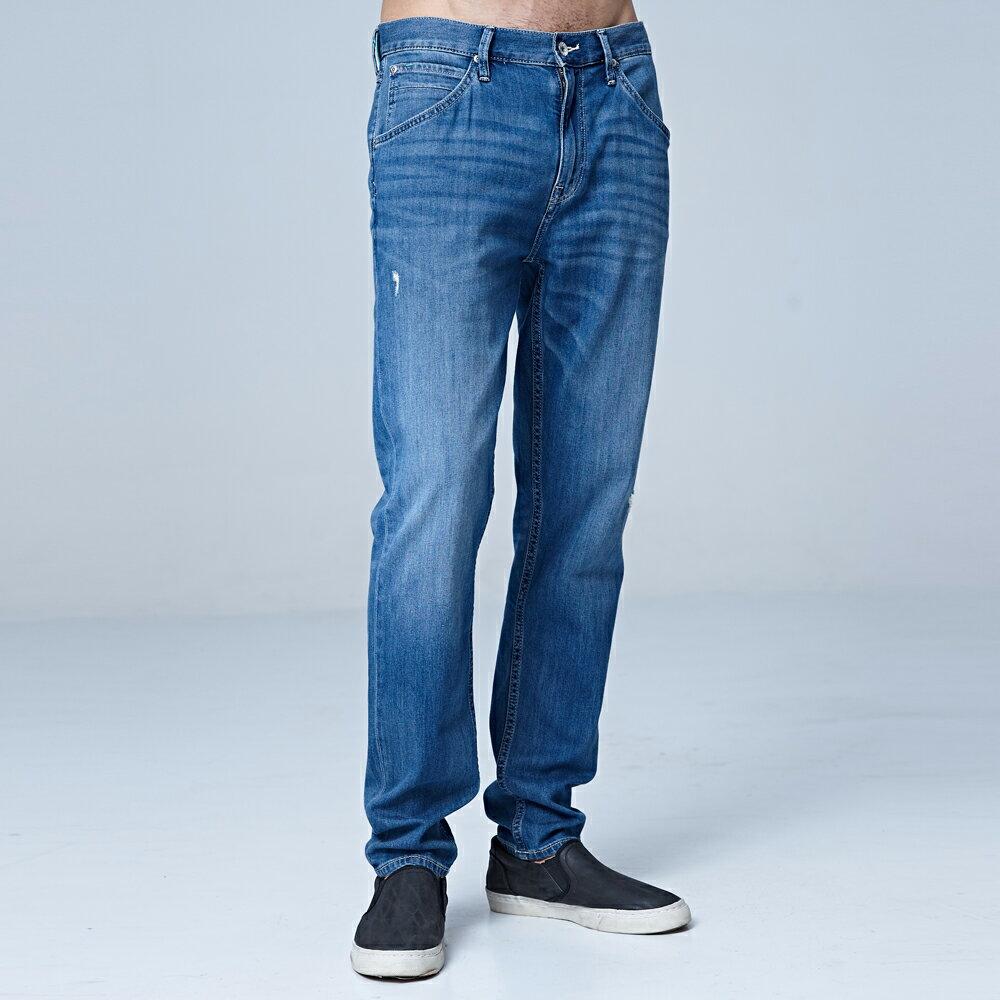 ❆涼感褲❆Lee 731 中腰舒適小直筒牛仔褲 RG Jade Fusion 男款 淺藍色