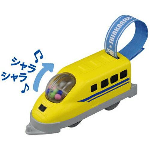 TAKARATOMY-PLARAIL鐵道王國寶寶多美火車--黃博士號383元